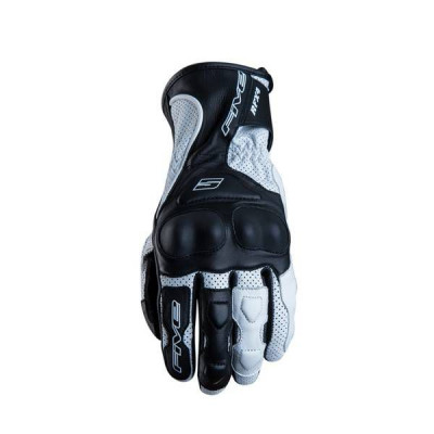 Gants Moto FIVE RFX4 Vented/Airflow Waterproof Homme Noir/Blanc