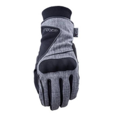 Gants Moto FIVE Stockholm Waterproof Homme Gris