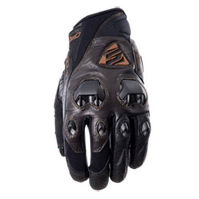 Gants Moto FIVE Stunt Evo Leather Homme Marron