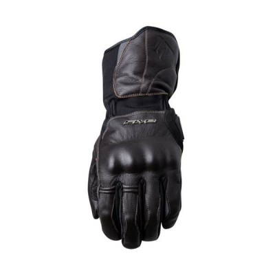 Gants Moto FIVE WFX Skin Waterproof Homme Marron