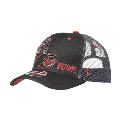 Casquette West Coast Choppers Choppersdogs Gris