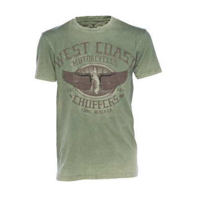 T-Shirt Homme West Coast Choppers Wings Logo
