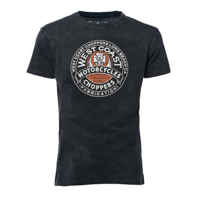 T-Shirt Homme West Coast Choppers Fabrication