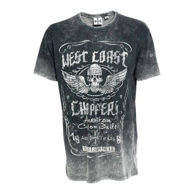 T-Shirt Homme West Coast Choppers Ride Hard Sucker