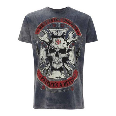 T-Shirt Homme West Coast Choppers Mechanic