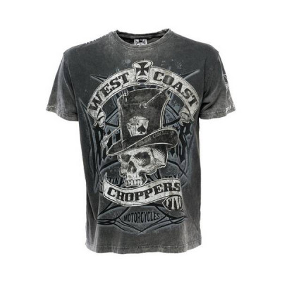 T-Shirt Homme West Coast Choppers Cash Only