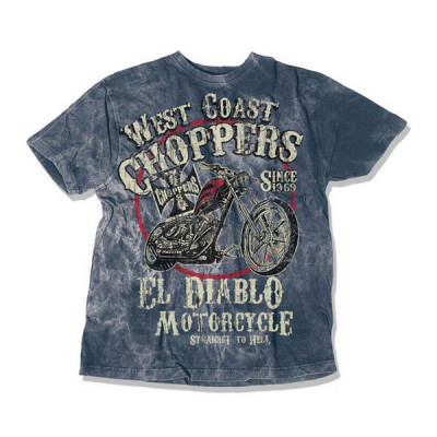 T-Shirt Homme West Coast Choppers El Diablo