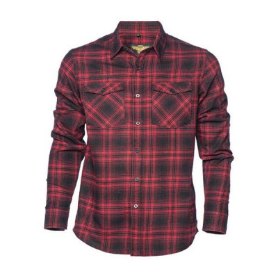 Chemise West Coast Choppers El Diablo Red Flannel
