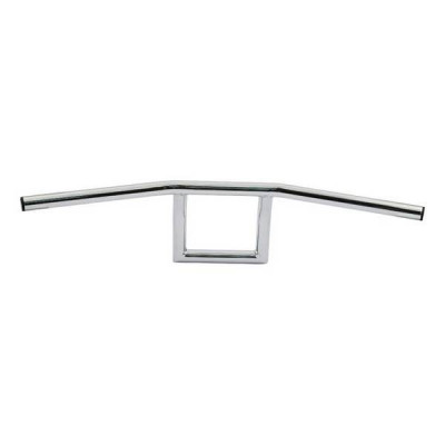 "Guidon Square Highway Hawk Chrome 1"" Harley 82/17"