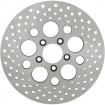 """Disque de Frein Arrière 11.5"""" Drag Specialties Drilled Dyna, Softail, Touring 00/17"""