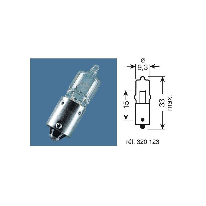 Ampoule Osram 12V 20W