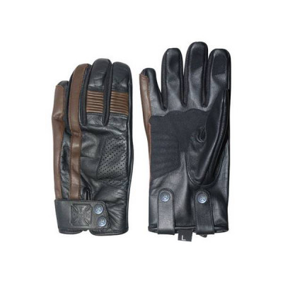 Gants Moto Homologués West Coast Choppers Grunge Marron