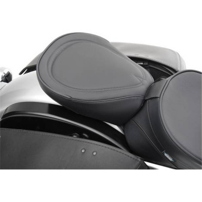 Pouf Passager Drag Specialties Wide Black Pinstripe Touring 99/18