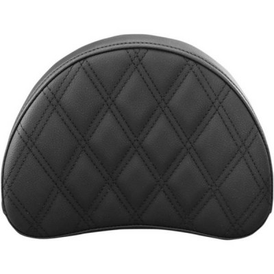 Pouf de Sissy Bar Saddlemen Explorer Step-Up LS Noir Half-Moon