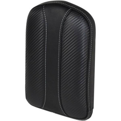 Pouf de Sissy Bar Saddlemen Dominator Noir Gravestone Grand