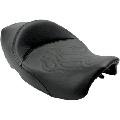 Selle Solo Saddlemen Tatoo Flamme Touring Road King Street Glide 99/07
