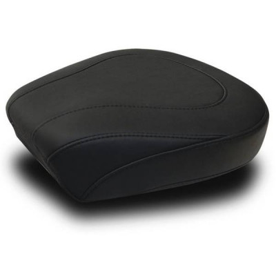 Pouf Passager Mustang Wide Tripper Lisse Noir Touring 08/18