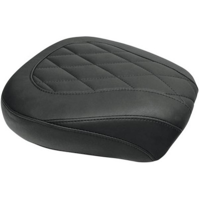 Pouf Passager Mustang Wide Tripper Diamond Noir Touring 08/18