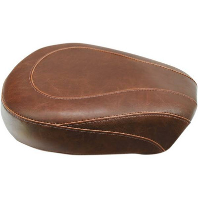 Pouf Passager Mustang Wide Tripper Lisse Marron Touring 08/18