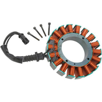 Stator d' Alternateur Cycle Electric Dyna, Softail 08/17