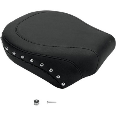 Pouf Passager Clouté Mustang Softail Standard 06/10, Fat Boy 07/17, Cross Bones 08/11