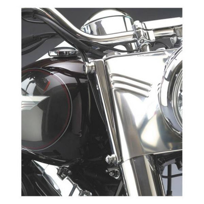 Kit Fixations de Pare Brise National Cycle Quickset-4 Softail Sans Passing
