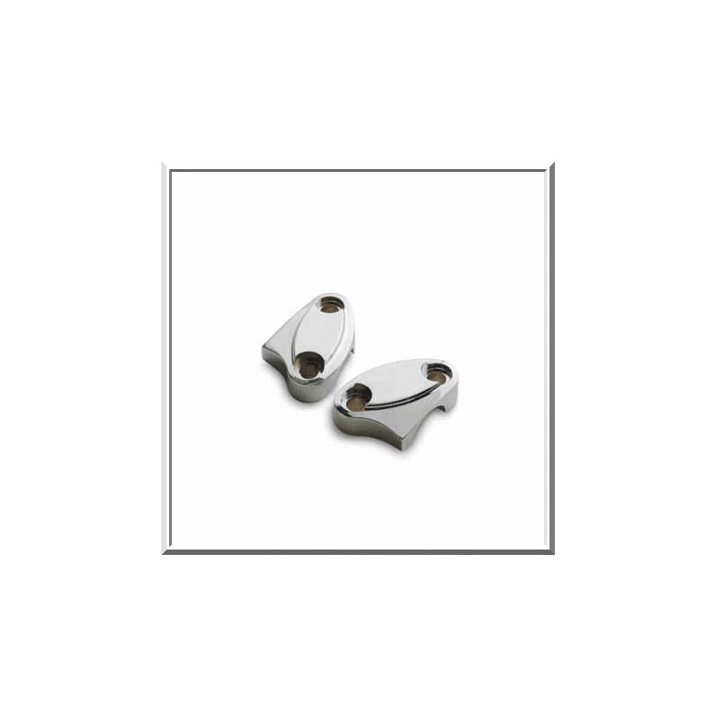 1803-7506 / 652009 CLAMP RISERS EARLY STYLE CHROME