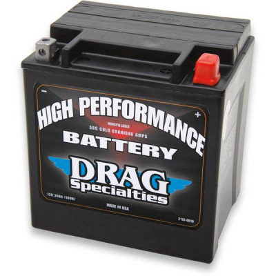 Batterie Gel High Performance Drag Specialties Touring, Trikes 99/19