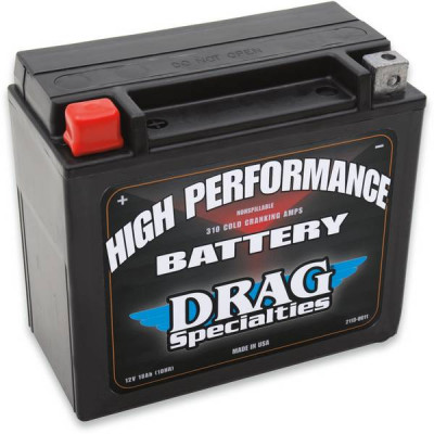 Batterie Gel High Performance Drag Specialties Sportster XL 86/96