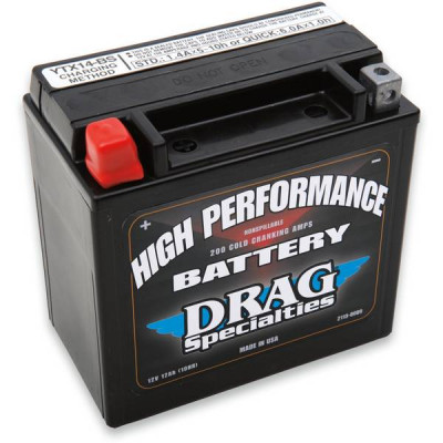 Batterie Gel High Performance Drag Specialties VROD 02/06