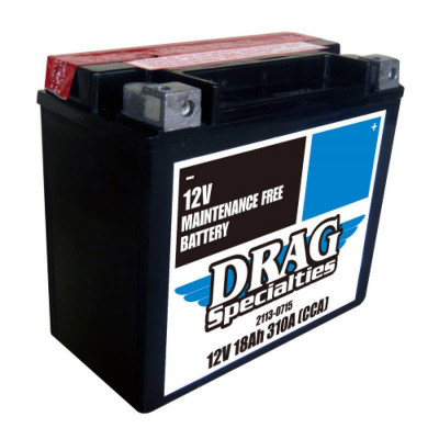 Batterie Gel Maintenance Free Drag Specialties Dyna, Softail, Sportster