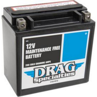 Batterie Acide Maintenance Free Drag Specialties Sportster XL 04/19