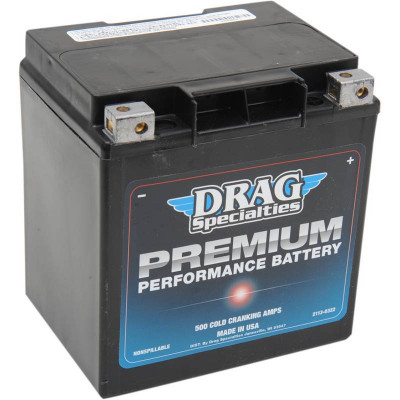 Batterie Gel Premium Performance Drag Specialties Touring, Trikes 99/19