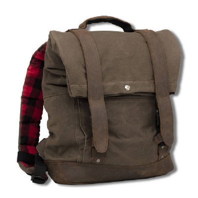 Sac à Dos Roll Top Backpack Burly Dark Oak