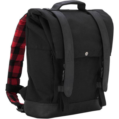 Sac à Dos Roll Top Backpack Burly Noir