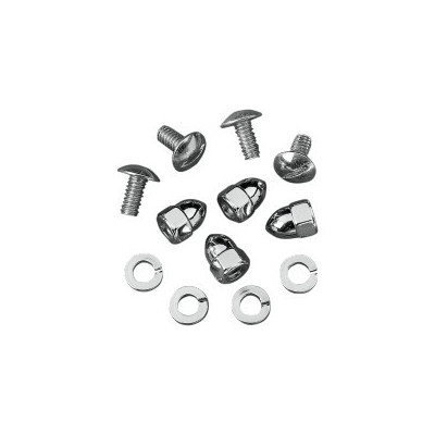 DS-190190 KIT DE VISSERIE DE PLAQUE CHROME