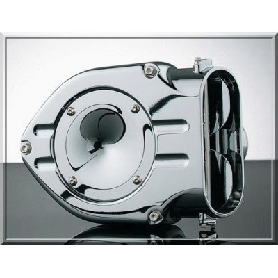 """1010-0157 FILTRE A AIR KURYAKYN """"HYPERCHARGER"""" TRAPPE LISSE TWIN CAM 01/05"""