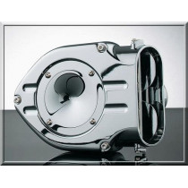 """1010-0136 FILTRE A AIR KURYAKYN """"HYPERCHARGER"""" TRAPPE LISSE BIG TWIN CARBU S&S 93/99"""