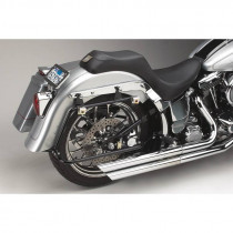 Supports de Sacoches Bagger-Tail Noir Cycle Visions Softail Fat Boy