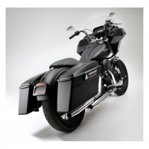 Sacoche Rigide Droite Bagger-Tail Cycle Visions Dyna Super Glide