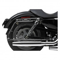 Supports de Sacoches Bagster Noir Cycle Visions Sportster XL 04/13