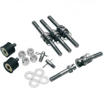 Kit Fixation Rapide de Sacoches Barebacks Cycle Visions Softail Avec Sissy Bar 03/17