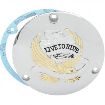"""TRAPPE EMBRAYAGE """"LIVE TO RIDE"""" BIG TWIN 70/98"""