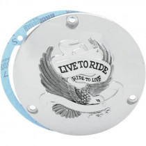 "TRAPPE EMBRAYAGE ""LIVE TO RIDE"" BIG TWIN 70/98"