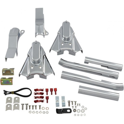 Kit de Caches Bras Oscillant Phantom Kuryakyn Chromé Softail 86/99