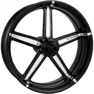 "Roue Avant Performance Machine Formula 21"" x 3.5"" Platinum Cut Touring ABS"