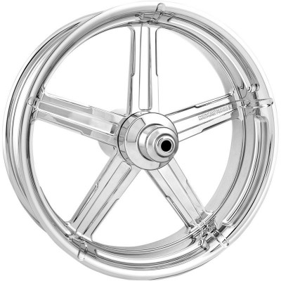"Roue Avant Performance Machine Formula 21"" x 3.5"" Chromé Touring"