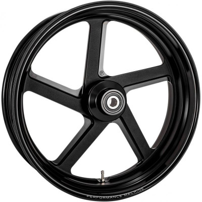 "Roue Arrière Performance Machine Pro Black Ops 18"" x 5.5"" Touring ABS"