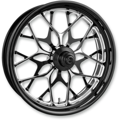 "Roue Arrière Performance Machine Galaxy Platinum Cut 18"" x 5.5"" Touring ABS"