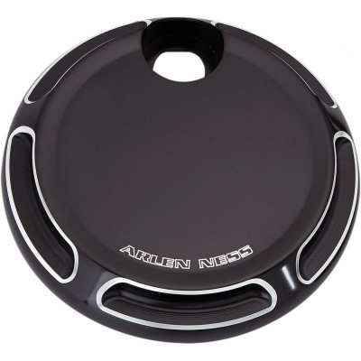 Gas Cap Beveled Black